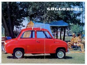 BMW Glas Goggomobil Prospekt 9.1967