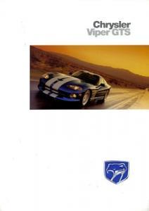Chrysler Viper GTS Prospekt 1997