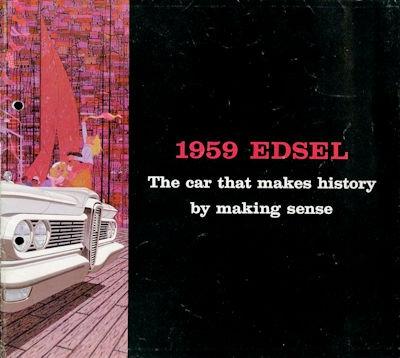 Ford Edsel Prospekt 10.1958