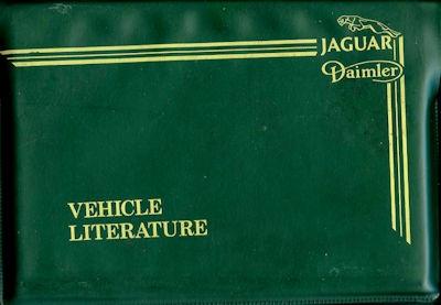 Jaguar XJ Serie III Mappe mit Bedienungsanleitung 8.1982