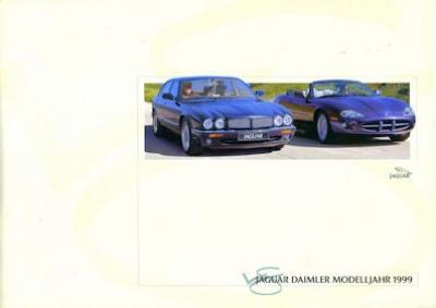Jaguar / Daimler Programm 1999