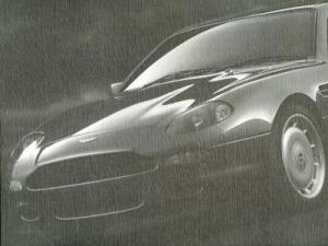Aston Martin DB 7 Prospekt ca. 1994