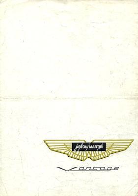 Aston Martin Vantage Prospekt 1975