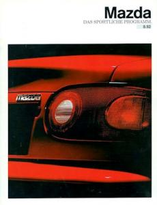 Mazda Sportliches Programm 1992
