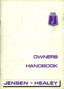 Jensen-Healey Bedienungsanleitung 12.1974