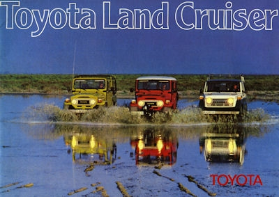 Toyota Land Cruiser Prospekt 1979