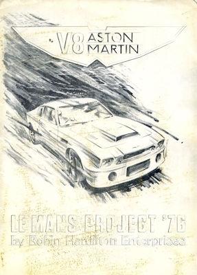 Aston Martin V 8 LeMans Project 1976