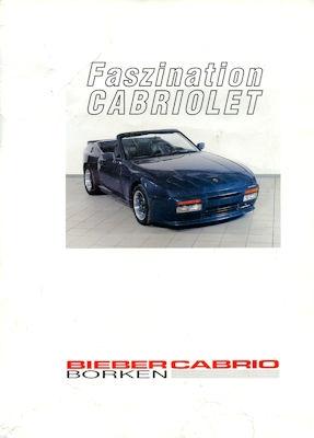 Bieber Cabrio Prospekt ca. 1990