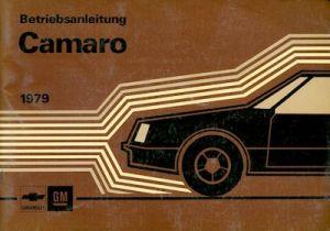 Chevrolet Camaro Bedienungsanleitung 1979