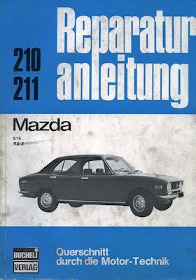 Mazda 616 / RX 2 Reparaturanleitung 1970er Jahre