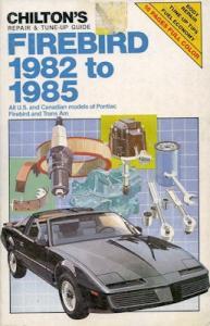 Pontiac Firebird Reparaturanleitung 1982-1985