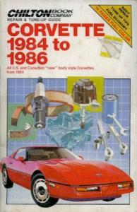 Chevrolet Corvette Reparaturanleitung 1984-1986