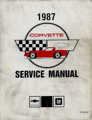 Chevrolet Corvette Reparaturanleitung 1987