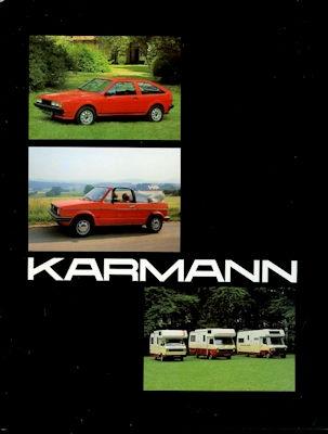 VW Karmann Programm 1980er Jahre