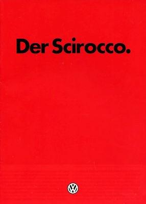 VW Scirocco 2 Prospekt 1.1983