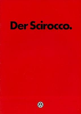 VW Scirocco 2 Prospekt 8.1984