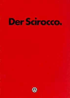 VW Scirocco 2 Prospekt 1.1985