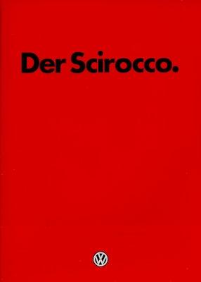 VW Scirocco 2 Prospekt 8.1981