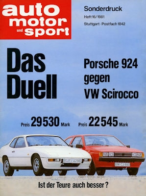 VW Scirocco 2 Test 1981