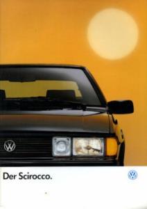 VW Scirocco 2 Prospekt 8.1990