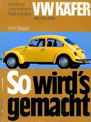 VW Käfer Reparaturanleitung 1979