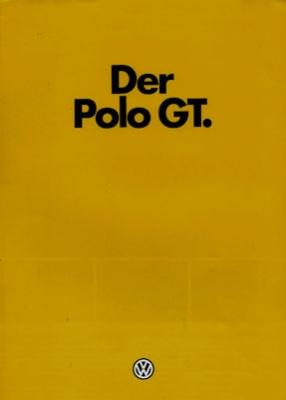 VW Polo 1 GT Prospekt 9.1979