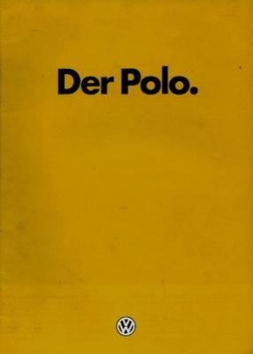 VW Polo 1 Prospekt 7.1980