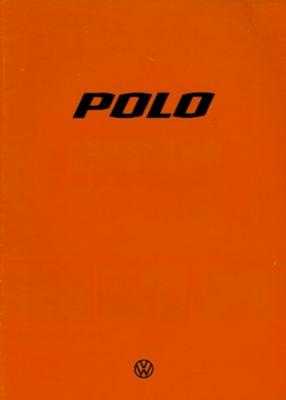 VW Polo 1 Prospekt 8.1977