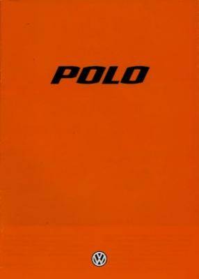 VW Polo 1 Prospekt 1.1979