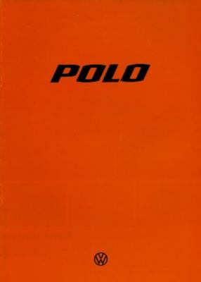 VW Polo 1 Prospekt 1.1978