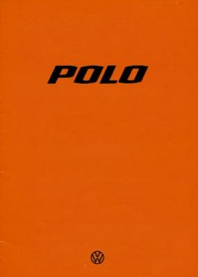 VW Polo 1 Prospekt 1.1977