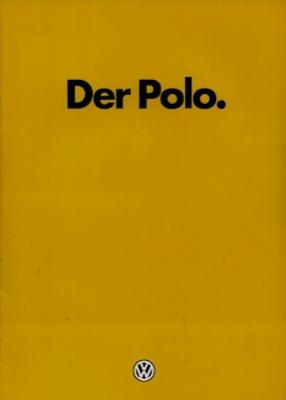 VW Polo 1 Prospekt 1.1981
