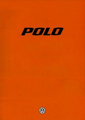 VW Polo 1 Prospekt 8.1978