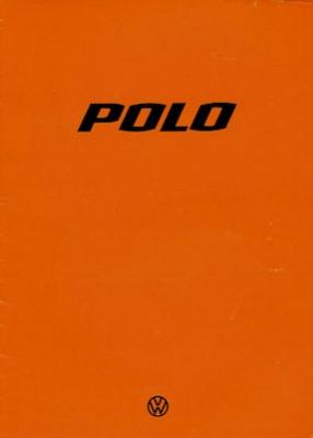VW Polo 1 Prospekt 8.1976