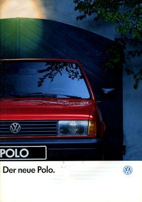 VW Polo 2 Facelift Prospekt 1.1991