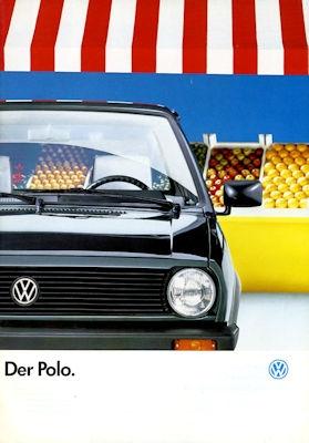 VW Polo 2 Prospekt 8.1988