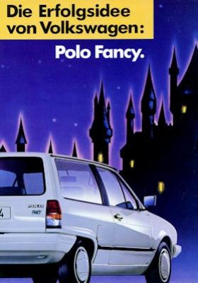VW Polo 2 Fancy Prospekt 11.1987