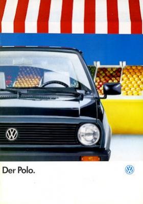 VW Polo 2 Prospekt 8.1987