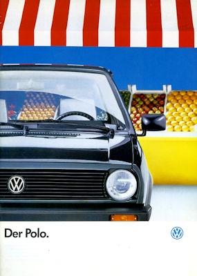 VW Polo 2 Prospekt 1.1989