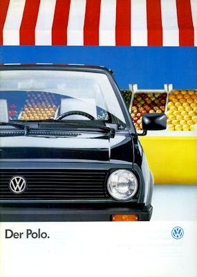 VW Polo 2 Prospekt 1.1988
