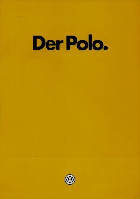 VW Polo 2 Prospekt 8.1982