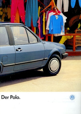 VW Polo 2 Prospekt 7.1986