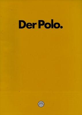 VW Polo 2 Prospekt 1.1983