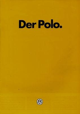 VW Polo 2 Prospekt 8.1984
