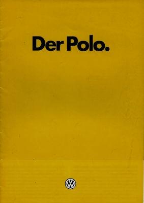 VW Polo 2 Prospekt 1.1984
