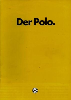 VW Polo 2 Prospekt 1.1985