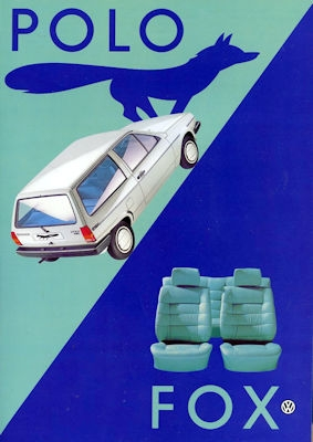 VW Polo 2 Fox Prospekt 2.1985