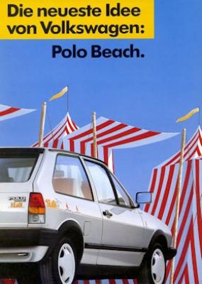 VW Polo 2 Beach Prospekt 3.1990