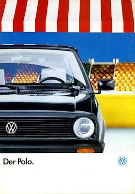 VW Polo 2 Prospekt 1.1990