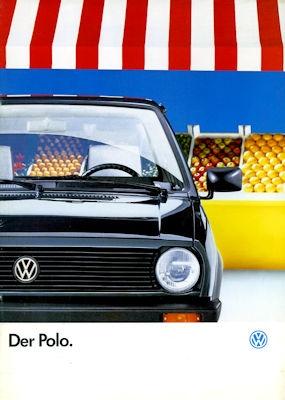 VW Polo 2 Prospekt 8.1989